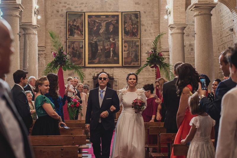 boda iglesia san andres toledo miguel moba fotografos