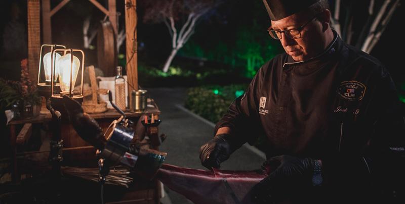 cortador de jamon boda cigarral toledo foto miguel moba fotografo
