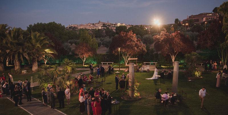 boda cigarral del angel jardines fotografo miguel moba