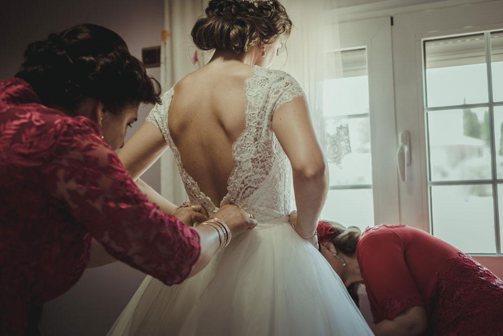 falda vestido de novia Pronovias Miguel Moba Fotografo de Bodas Granada