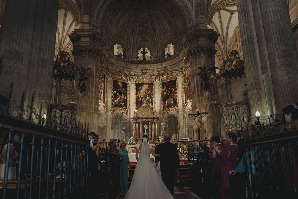Iglesia Catedral boda Miguel Moba Fotografo de Bodas Granada