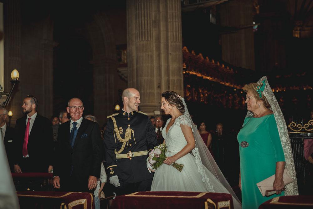 celebración de boda en la Catedral Miguel Moba Fotografo de Bodas Granada