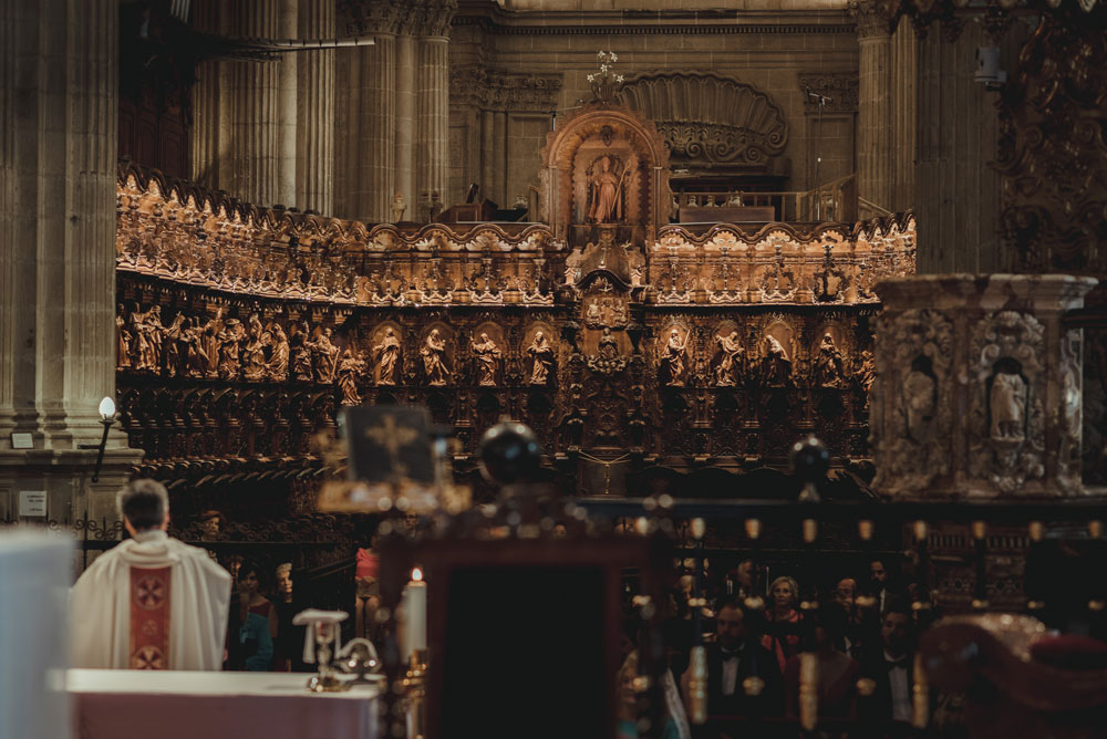 coro de la Catedral de Guadix Miguel Moba Fotografo de Bodas Granada