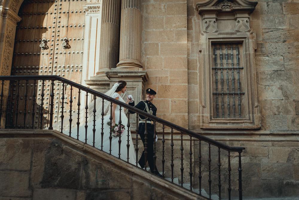 recién casados en Granada Miguel Moba Fotografos de Bodas Granada