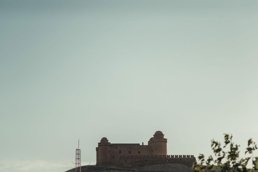 Castillo de La Calahorra. Miguel Moba fotógrafo de bodas.