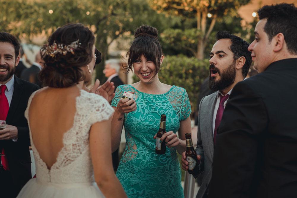coctel de boda en La Calahorra Miguel Moba Foto