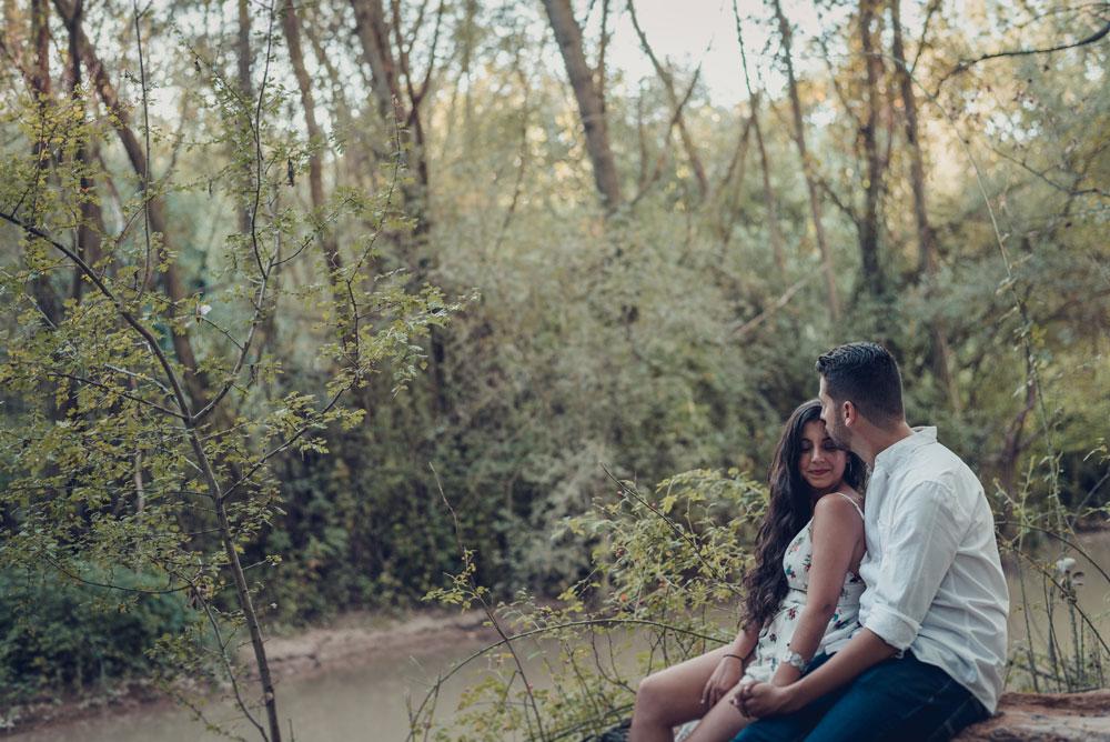 fotos de pre boda en el bosque miguel moba fotografo
