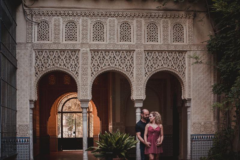 fotos pareja en la alhambra fotógrafo de bodas miguel moba